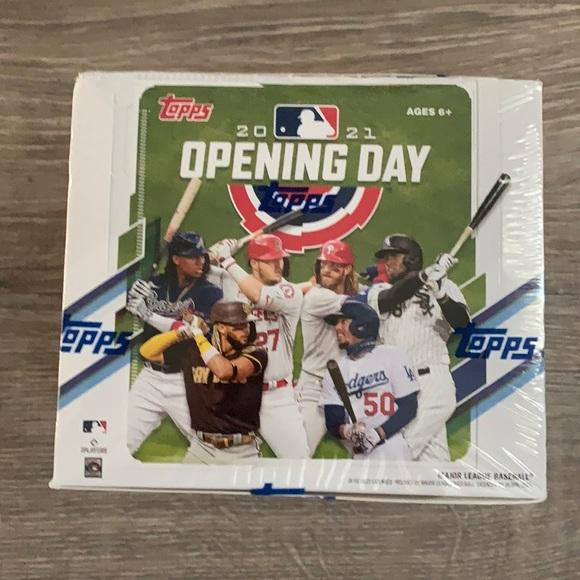 Topps 2021 Opening Day Baseball Hobby Box